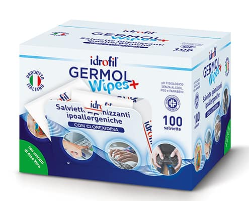 Espositore GermolWipes